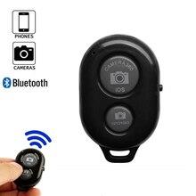 Wireless תריס טלפון עצמי טיימר כפתור תריס Selfie שחרור כפתור בקר מתאם תמונה עבור אנדרואיד IOS