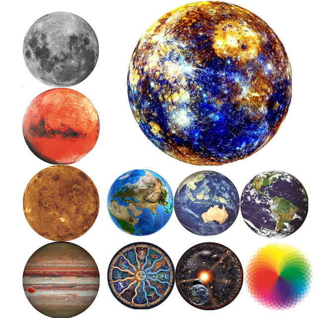 Jigsaw Puzzle 1000 Piece Planet Puzzle Early Education Toy Adult Children Family Game Toys DIY Stress Relief Educational Toys 1