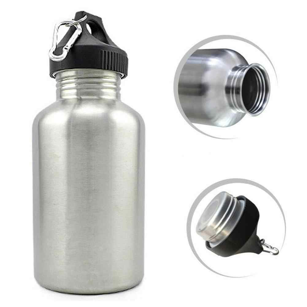 Sports Travel Water Bottle Outdoor Gym Flask Portable Cup With Leak Proof Lid