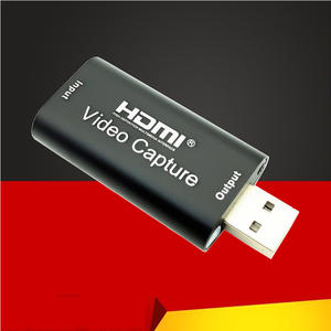 VHS Camcorder Video-Capture-Card Hd-Camera Ps4 Game Live-Streaming HDMI 1080P 4K USB