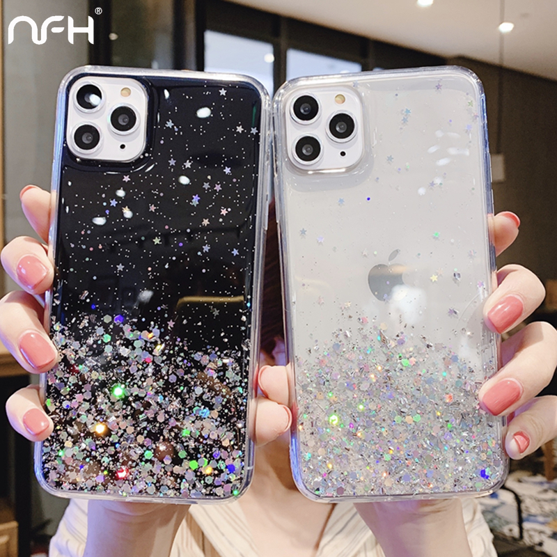Для iPhone 5 5S SE роскошный блестящий силиконовый чехол для iPhone 11 Pro X XR XS 11Pro Max Тонкий блестящий чехол на iPhoen 6 6S 7 8 Plus|Специальные чехлы|   | АлиЭкспресс