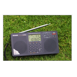 Image 5 - Tecsun PL 398MP wieża Stereo portatil AM FM pełnozakresowy cyfrowy Tuning z ETM ATS DSP dwa głośniki odbiornik odtwarzacz MP3