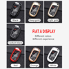 ABS Carbon Fiber Car Key Case Cover For Jeep Grand Cheroke Chrysler 300C Renegade FIAT Freemont Dodge Ram 1500 Journey Charger review
