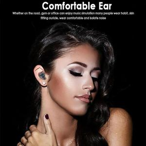 Image 5 - B5 TWS Bluetooth 5.0 Wireless Earphone Touch Control Earbuds Waterproof 9D Stereo Music Headset With 300mAh Power Bank