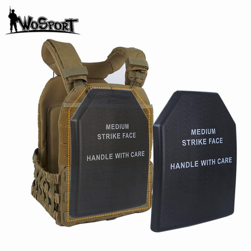 Universal Tactical Vest Foam Plate Dummy Ballistic Plate Carrier Military Vest Board EVA Shock Resistant Vest Accessory Panel
