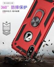 Do Samsung Galaxy A20e A70 A50 A40 A30 A20 A10 przypadku podpórka pancerz pokrywa dla Samsung A80 A90 A50 A70 M40 M20 Magnet przypadku telefonu
