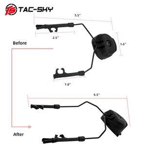 Image 3 - Military tactics Peltor helmet ARC OPS CORE helmet track adapter headphone bracket and fast action core helmet rail adapter   BK