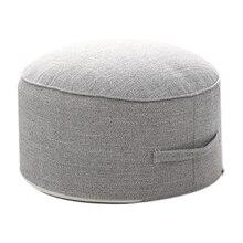 Дизайн, круглая высокопрочная губчатая подушка для сиденья, Подушка Татами, медитация, Йога, круглый коврик, подушки для стула(серый