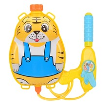 Backpack Water Immersion Shock Wave Water Sprayer Children's Toys Outdoor Water Toys Beach Nozzle Backpack Set(China)