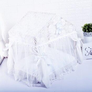 Full Lace Luxury Pet House Upscale Dog Tent Beautiful Dog Bed
