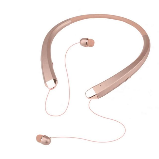 HBS 910 Bluetooth Earphone CSR Tone Sports Neckband Mic Noise Cancelling Stereo Sweat Proof Headphone