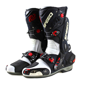 Image 2 - Mens Motorcycle Boots Motorbike Waterproof Speed Shoes Motocross Tall Boot Dirt bike ADV Sport Touring Boots Shoes