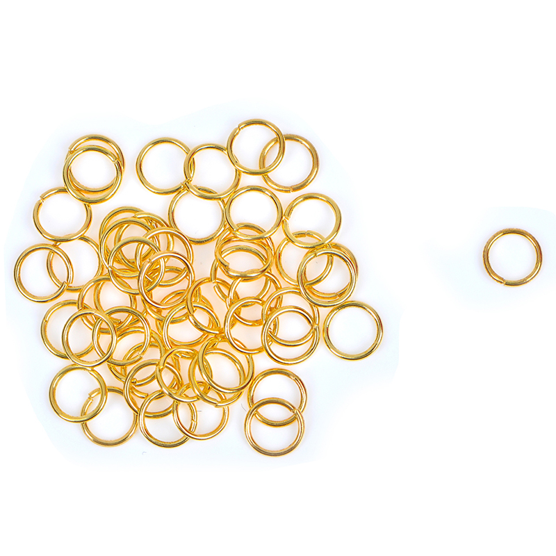 50/90/120pcs 3/4/6mm Open Jump Rings Connectors Beads   For Jewelry DIY Accessories Hot Sale