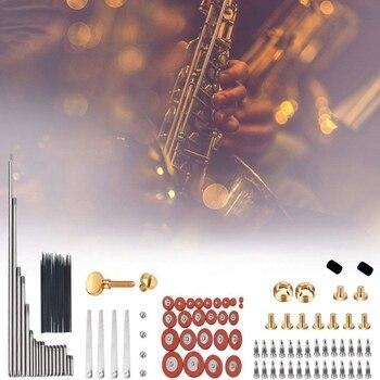 119Pcs/Set Alto Sax Saxophone Repair Parts Screws + Saxophone Springs Kit DIY Tool Woodwind Instrument Accessories