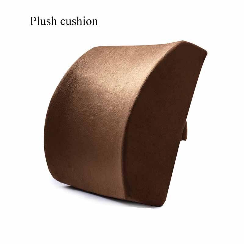 Hb0e7dd4cd2364645851e5e8d5740c568Y Car Seat Cushion Coccyx Orthopedic Memory Foam Seat Massage Chair Back Cushion Pad Office Massage Cushion