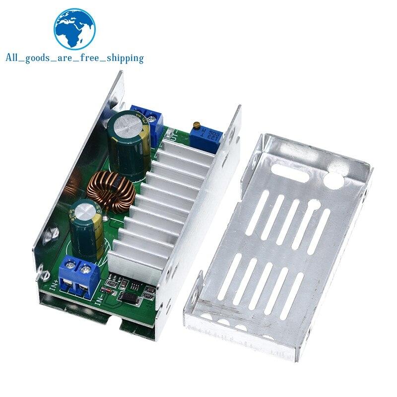 200W макс DC-DC повышающий преобразователь постоянного тока 6V-55V 10A Регулируемый повышающий Напряжение Зарядное устройство Питание модуль с Алю...
