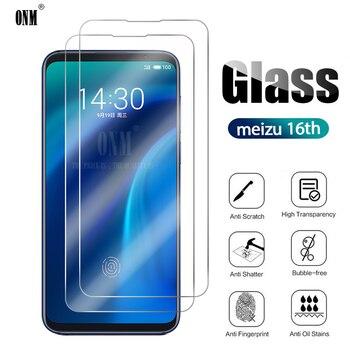 10 Uds vidrio templado para Meizu 16 Protector de pantalla Meizu 16th 5,0 película protectora de vidrio