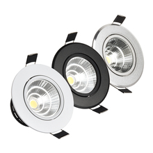 Downlight COB Dimmable 3W 5W 7W 10W brightness equal to 3times of energy saving lamp and 15times of incandescent lamp Spot LED