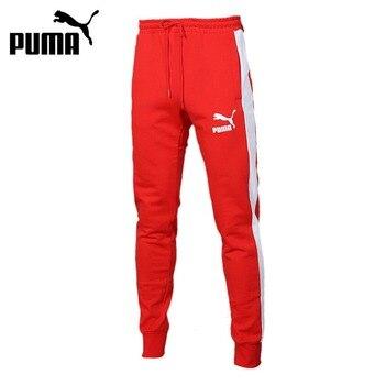 Original New Arrival  PUMA Iconic T7 Track   Men's  Pants  Sportswear