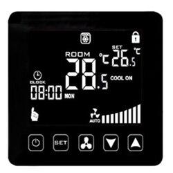 Klimatyzator regulator temperatury WIFI inteligentny termostat 2/4 rura klimatyzacja chłodzenie termostat grzejnikowy wentylator Co