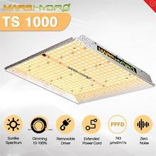 MarsHydro TS 1000W możliwość przyciemniania oświetlenie Led do uprawy W pełnym spektrum roślina doniczkowa System hydroponiczny z namiotem i panelem świetlówka do roślin
