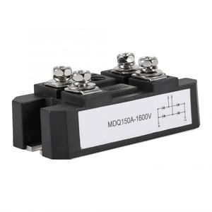 Single-Phase Diode Bridge Rectifier 150A Amp High Power 1600V Bridge Module Black Domestic Delivery