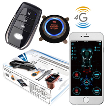 Alarm-System Remote-Starter Engine Start-Stop Keyless-Entry Cardot 4g Smart Gps GSM
