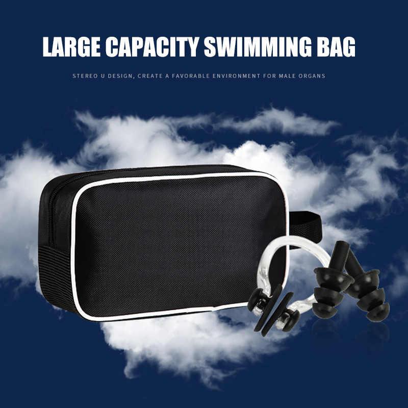 Gli uomini di Nuoto Set Occhiali di Costumi Da Bagno Protezione Borsa per il trasporto Degli Uomini di Costumi Da Bagno Spiaggia Costume Da Bagno Shorts K2