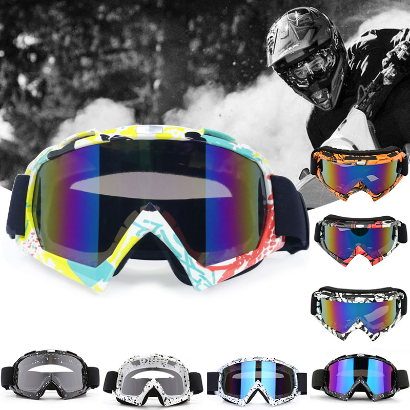Motorcycle Goggles Glasses Cycling MX offroad Helmets For Ski Sport Gafas Motorcycle Dirt Bike Racing Moto Goggles Protection