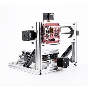 Image 2 - CNC 1610 cnc makinesi ahşap router lazer oyma makinesi 3 eksen PCB akrilik PVC mini router GRBL kontrolü