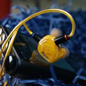 Image 5 - QOA Mojito 2 Sonion BA + 4 Knowles 6BA Fahrer Einheiten In Ohr Kopfhörer HIFI DJ Monitor IEM 2Pin Silber  überzogene Kupfer Kabel Headset