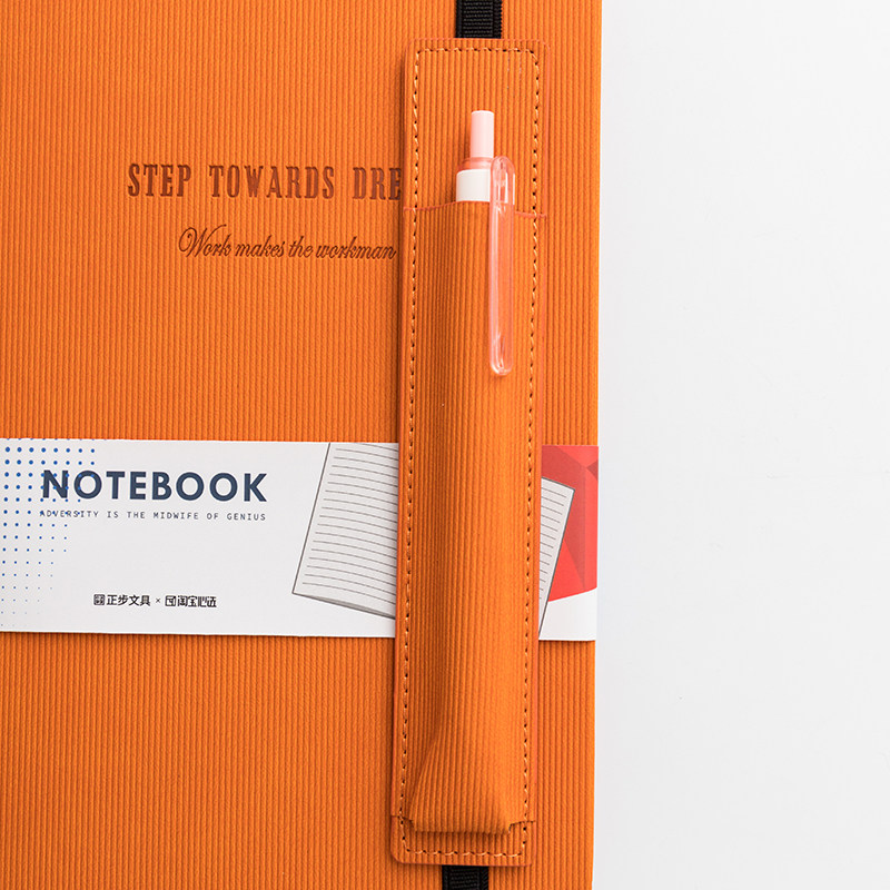 Image 4 - PU Leather Office Planner Business Notebook School Stationery Supplies 2020 Agenda Planner Organizer Pen Insert Bag NotebookNotebooks   -