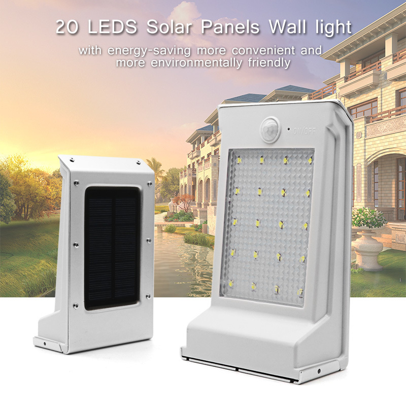 20LEDs Replaceable Battery Wall Lamp (12)