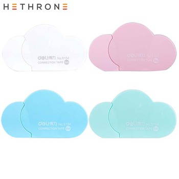 Hethrone New Arrival 1PC Cartoon Popular Mini Small Clouds Shaped Correction Tape Altered Tapes School Writing Corrector Tools G 1
