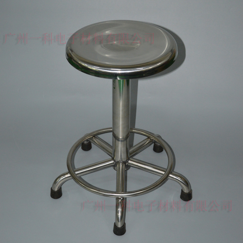 Production Order Do All 304 Stainless Steel Stool Chair Hospital Laboratory Stainless Steel Anti-static Round Stool Gu Ding Yi