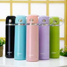 New Stainless Steel Vacuum Flasks 500ml Thermos Cup Coffee Tea Milk Travel Mug Thermo Bottle for Christmas F
