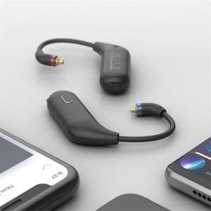 Image 4 - Para fiio utws1 mmcx adaptador de fone ouvido bluetooth conversor porto verdadeiro sem fio fones ouvido gancho dinâmico & armadura