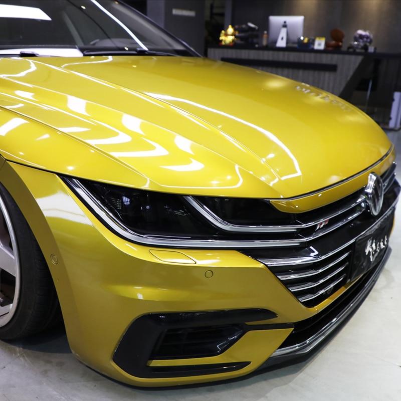 Lsrtw2017 TPU Transparent Black Car Headlight Protective Film For Volkswagen Cc Arteon 2018 2019 2020 Anti-scratch Sticker Vw