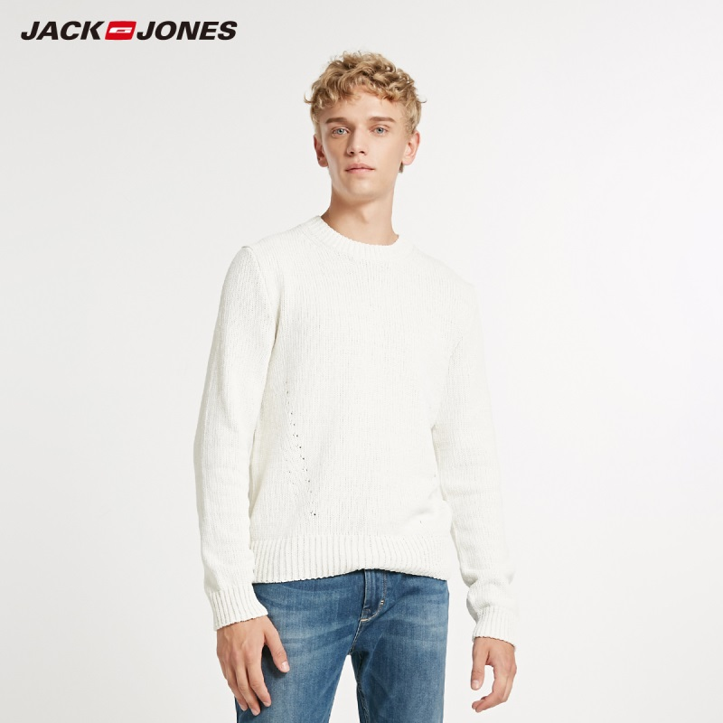 JackJones Winter Men's Fashion Trends Round Neck Sweater 218424510