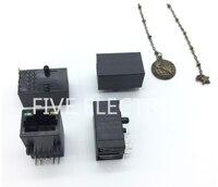 SI-50199-F 1 Porte RJ45 Magjack Connettore Attraverso Il Foro 10/100 Base-T  AutoMDIX