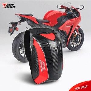 Moto Motorbike Helmet Bags Travel Luggage Waterproof Motorcycle Bag Motorcycle Backpack Tank Bag Carbon Fiber Leg Bag(China)