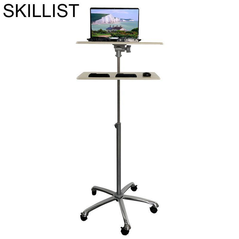 Oficina Standing Bed Tray Mesa Notebook Mueble Office Furniture Escritorio Lap Laptop Stand Adjustable Desk Computer Study Table