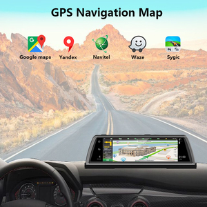 Image 4 - WHEXUNE 4G Android voiture DVR Dash cam 4 lentille 10 pouces Navigation ADAS GPS WiFi Full HD 1080P enregistreur vidéo 2GB + 32GB véhicule caméra