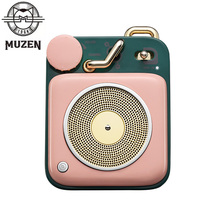 Карманная Bluetooth-Колонка MUZEN с кнопкой, 5 Вт, Bluetooth 4,2, 8 часов воспроизведения