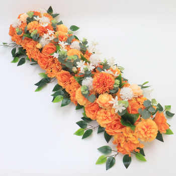 Angela flower Artificial & Dried Flowers Orange D
