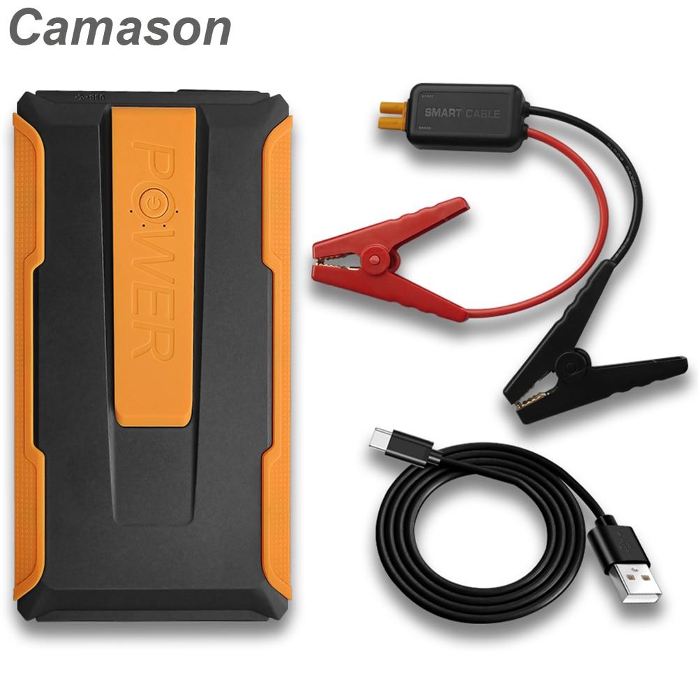 Автомобильное пусковое устройство Camason, внешний аккумулятор 1000 А, пусковое устройство, автомобильное аварийное пусковое устройство, зарядн...