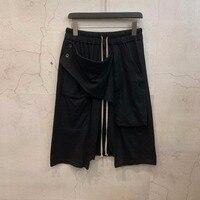 19ss Owen Seak Men Casual Short Harem Gothic Style Men's Clothing Sweatpants Summer Women Loose White Short Size XL