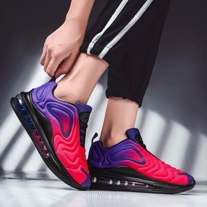 Image 2 - נשים נעלי ספורט סניקרס אוויר כרית מאמני נעלי אישה פלטפורמת Sneaker סתיו החורף הנעלה לנשימה רך סל Femme