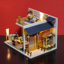 Doll house model toys role play elegant house  furnishing articles Hokkaido Washitsu room children toys kids educational toys doll house model toys role play elegant house furnishing warm time room children toys kids educational toys