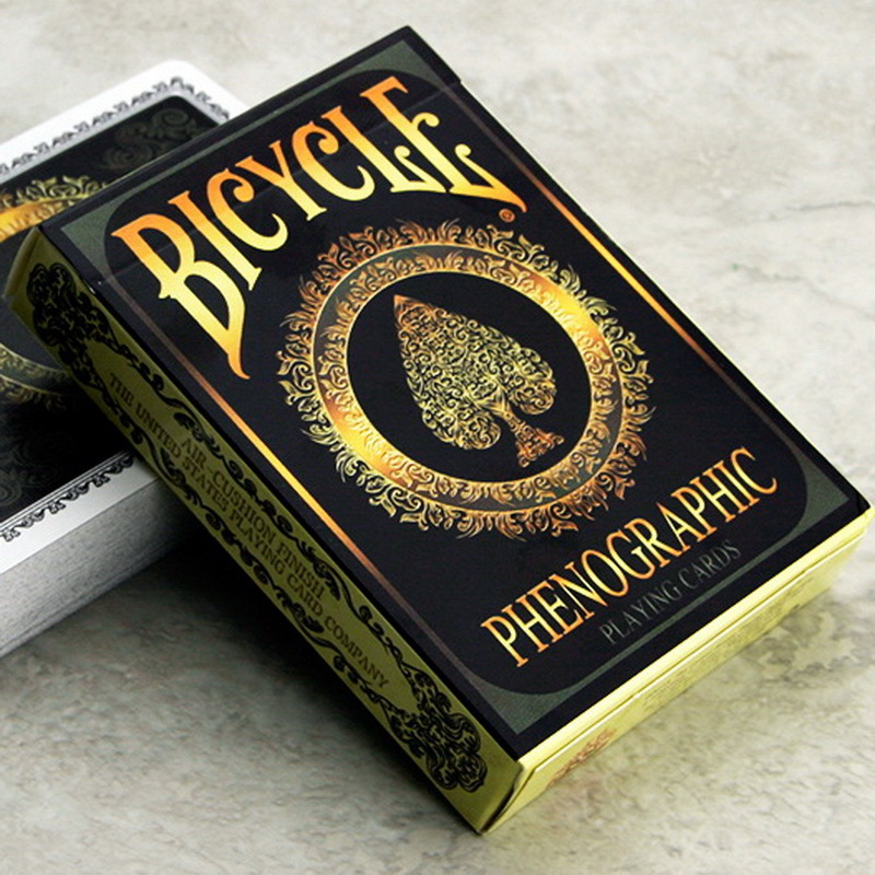 1 Deck Bicycle Cards Phenographic Playing Cards Regular Bicycle Deck Rider Back Card Magic Trick Magic Props